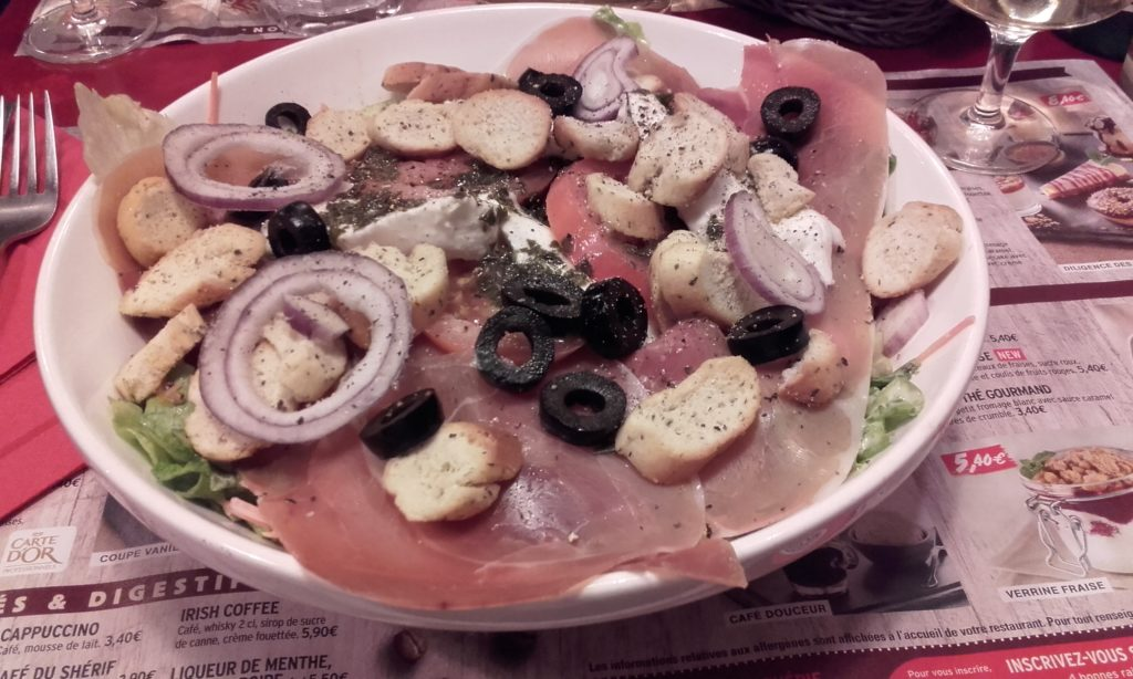 Little Italy Salad from Buffalo Grill Paris