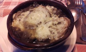Not so good onion soup