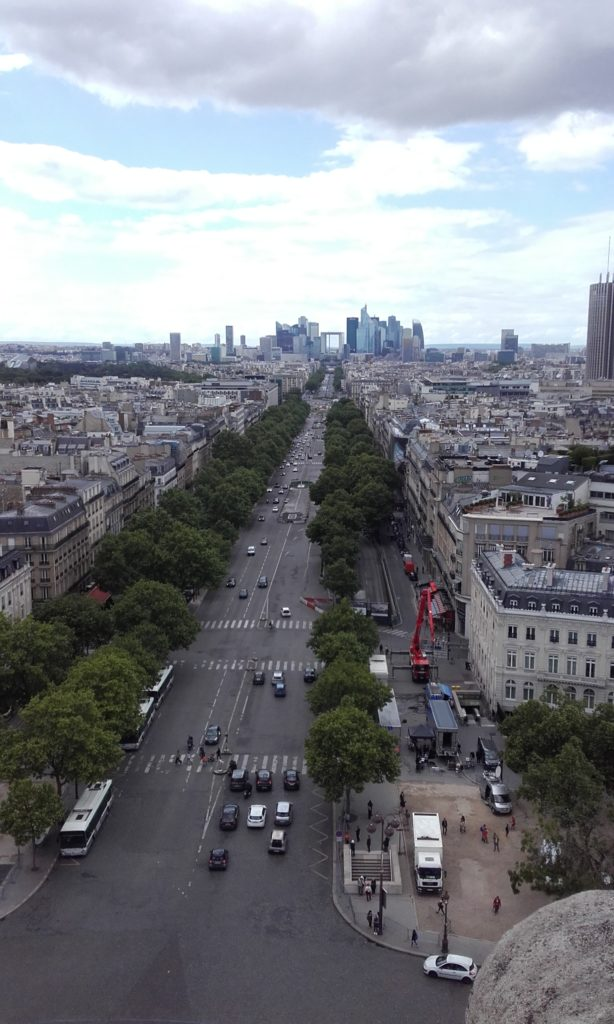 Champs Elysee to La Defense
