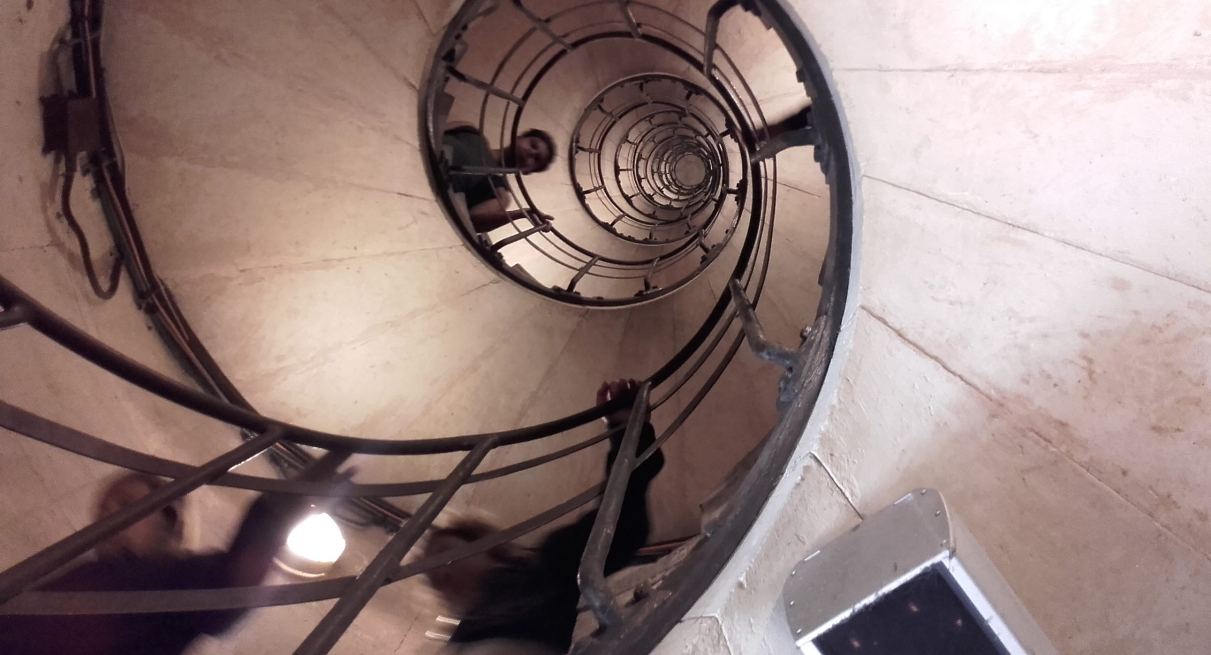 stairs in arc de triomphe