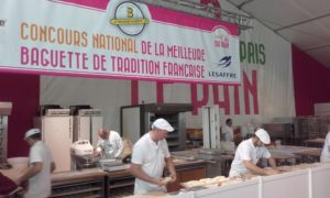 Bakery at bread festival